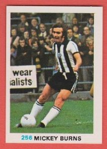 Newcastle United Mickey Burns